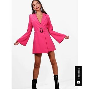 9740556673de Boohoo Dresses | Boutique Blazer Dress | Poshmark